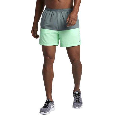 Nike Herren Shorts Distance Hasta/Grünes Glühen