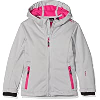 CMP Softshell para niña, niña, Softshelljacke, Ice Mel-Hot Pink