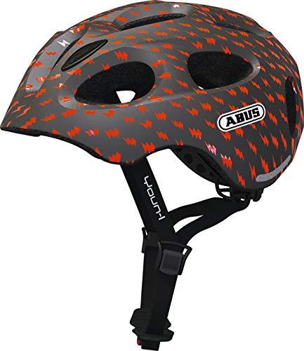 Abus Youn-I Helmet Kids Grey Lightning Kopfumfang S | 48-54cm 2019 Fahrradhelm