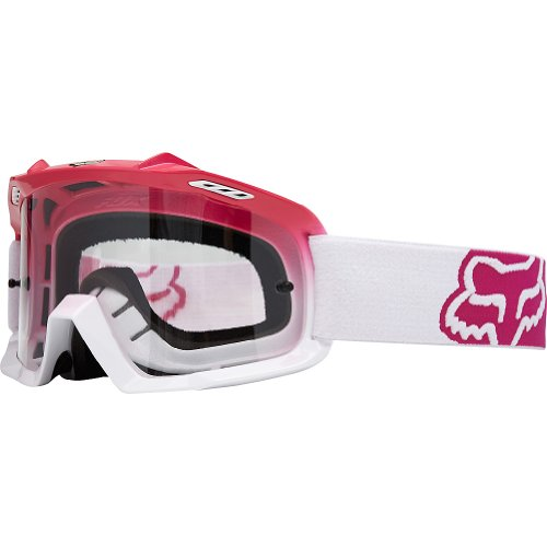 Fox Youth Airspc Mx-Brille Hot Pink-White Fade (Pink Fox Racing)