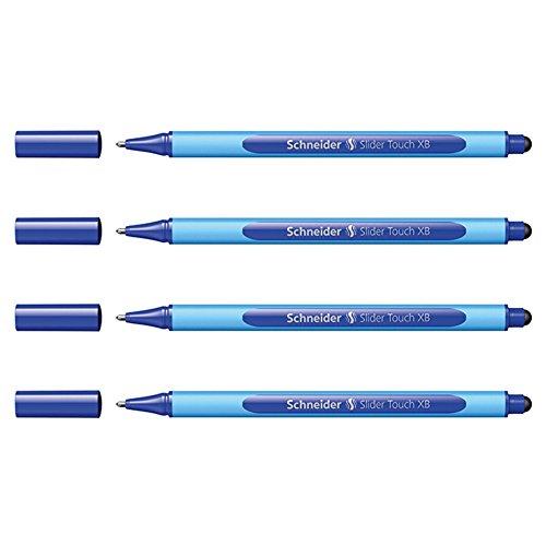 Schneider Slider Touch XB 4er-Set blau Touch-slider