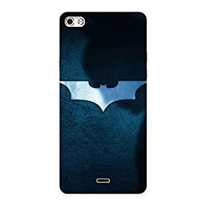 Blueish Knight Back Case Cover for Micromax Canvas Silver 5