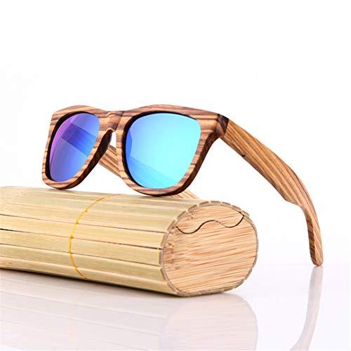 DAIYSNAFDN Bambus Sonnenbrille Männer Holz Sonnenbrille Frauen Spiegel Original Holz Sonnenbrille Same Pictures 10