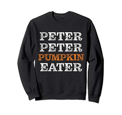 Peter Peter Kürbis-Esser-Halloween-Kostüm für Erwachsene Sweatshirt