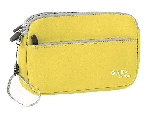 DURAGADGET Neoprentasche (Gelb) für Diabetiker - zum Transport von ihrem Stift oder Pen und anderem Zubehör