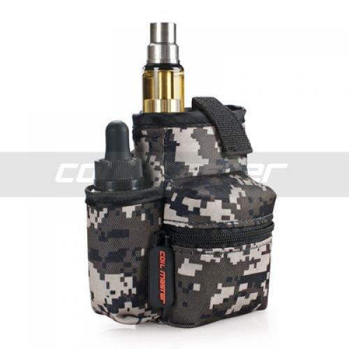 Coil Master Pbag 100% Authentic Universal Multifunktions-Elektronische Zigarette Vape Reise Tragetasche Mini Vape Tragetasche für Werkzeuge, Flüssigkeiten, RDA RTA Zerstäuber Mods, Batterien, Baumwolle / Wicking Supplies, Vape Kits, Vape Pens und vieles mehr! [BAG NUR] (Tarnung | Camouflage)