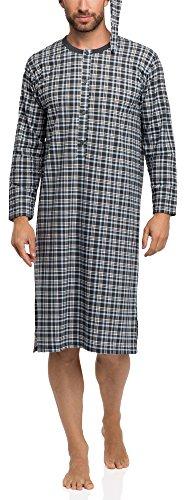 Timone Camicia da Notte Uomo 008 (Modello-F2, XL)