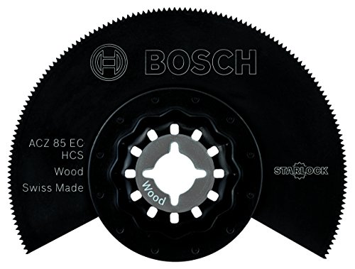 Bosch Professional Segmentsägeblatt Holz (für Multifunktionswerkzeuge Starlock (ACZ 85 EC))