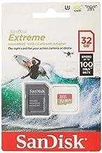SanDisk Extreme microSDHC 32GB per Action Camera e Droni + Adattatore SD, Velocità di Lettura fino a 100 MB/s, A1 C10 V30 UHS-I U3