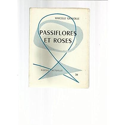 Marcelle Gravoille. Passiflores et roses : . Dessins de G. Abonneau