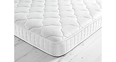 *** SPECIAL OFFER TO AMAZON BUYERS *** Starlight Beds - Single Mattress Shorty Mattress. Luxury Single Memory Foam Shorty Memory Foam and Spring Mattress With Deluxe Knitted Deep Micro Quilted Fabric For A Comfortable Sleeping Area. Fast Free Delivery FBR