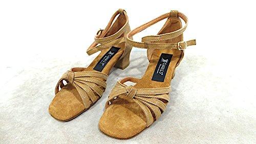 Charles dance shoes Scarpe da Ballo Donna Tacco 20 COD.400 Col.Satinato Cuoio Made in Italy Vedi Foto
