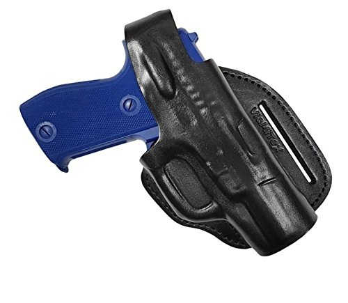VlaMiTex CD4 Leder Cross Draw Bodyguard Holster für Sig Sauer P225 / P6