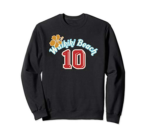 Waikiki Beach Honolulu Hawaii Sweatshirt