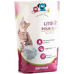 Litiere pour chat Gel de silice 3.8L