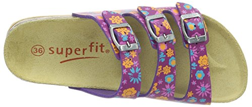 Superfit Fussbettpantoffel, Chaussons fille Pink (PINK MULTI 65)