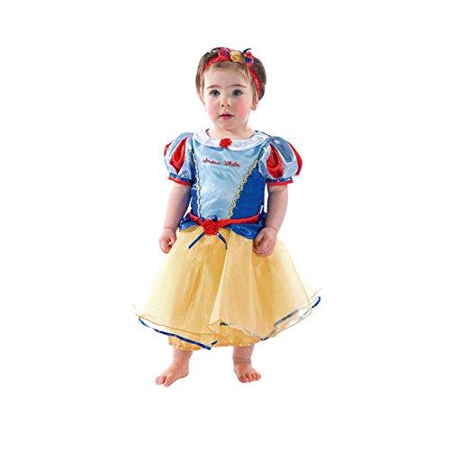 Disney Baby DCPRSW03 - Costume da Biancaneve per Bambina, Blu/Giallo, 3-6 Mesi