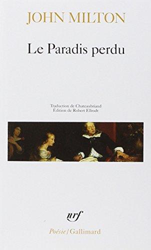Paradis Perdu (Poesie/Gallimard) par Milton