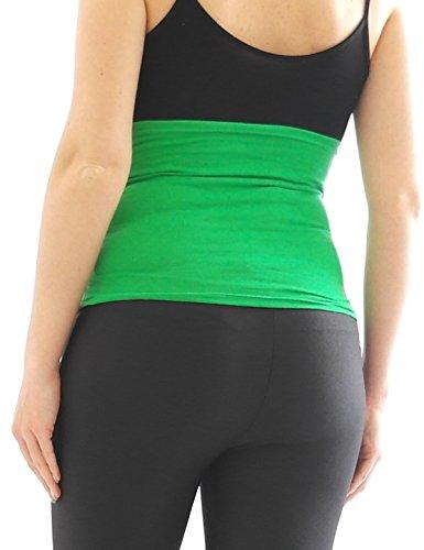 Ceinture de ventre Fédérale de ventre Bande Bande de cigare Grossesse ceinture Extension de pantalon Blanc