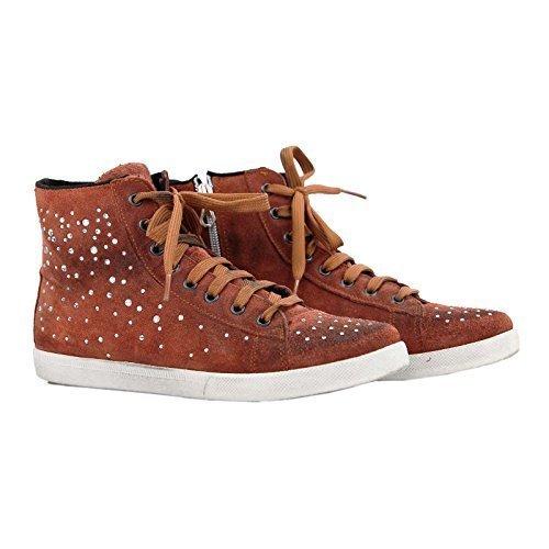 Ovye by Cristina Lucchi , Chaussures de ville à lacets pour femme - Orange-Braun