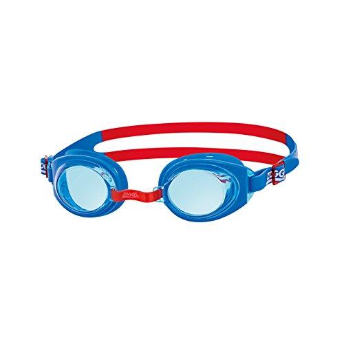 Zoggs Ripper Junior Gafas de natación, Infantil, Azul/Rojo/Tinte, 6-14 años