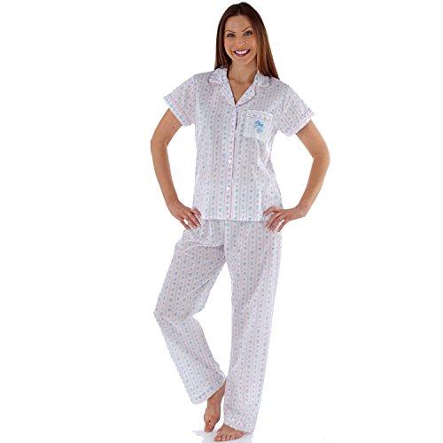 Lady Selena Damen Schlafanzug Stripe (LN458)