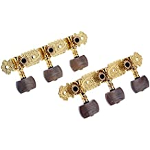 Andoer® Alice AOS-020B4P 1 Pair Gold-Plated 3 Machine Head Classical Guitar String Tuning Keys Pegs
