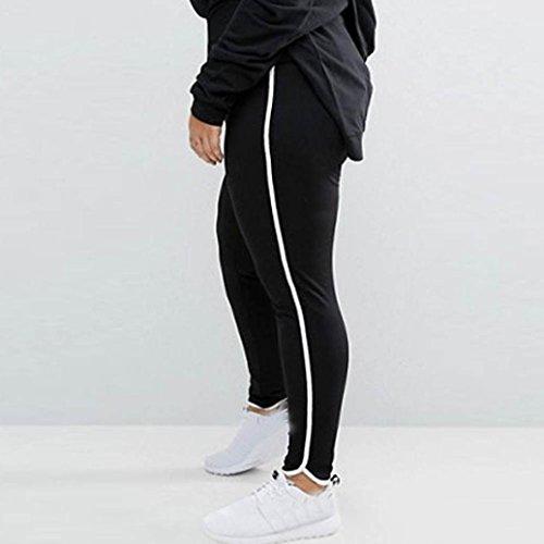 Bovake -  Pantaloni sportivi  - Donna Black