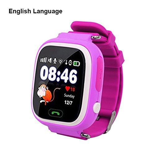 Touch Screen Wifi Positionierung Kinder Smart Armbanduhr Locator für Kind sicher Anti Verloren