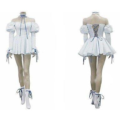 Cosplay Kostüm Inspiriert durch Chobits Chii (Mailen Sie uns Ihre Größe),Größe S:(150-160 (Kostüm Chobit)