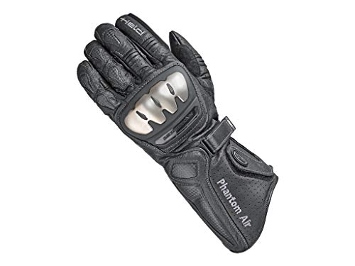 Preisvergleich Produktbild Held Motorradschutzhandschuhe,  Motorradhandschuhe lang Phantom Air Handschuh schwarz 8,  Herren,  Sportler,  Sommer,  Leder