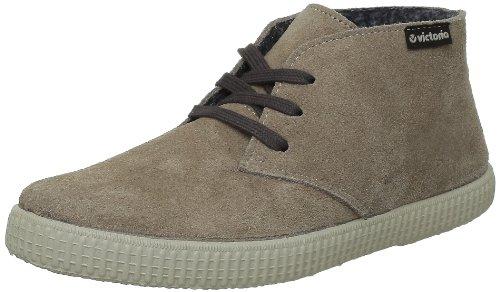 VictoriaSafari Serraje - Pantofole a Stivaletto Unisex - Adulto , Beige (Beige (Taupe)), 38 EU