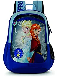 Skybags SB Frozen Champ 01 18 Ltrs Blue Casual Backpack  (SBFRC01EBLU)