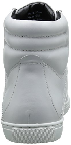 Kenneth Cole Reaction Think I Can Cuir Baskets white