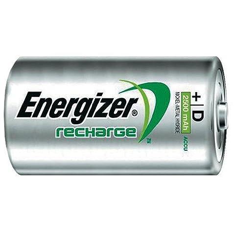 Energizer Akkus PowerPlus 2500 mAh Mono D