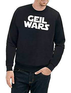 Geil Wars Font Felpa Nero