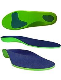 Columbia-Island Orthopädische Einlegesohle (35-48) / Schuhsohlen/Schuheinlage Sport-Einlegesohlen Einlagen - Fersen - Fußballen Unterstützung Arbeitsschuhe