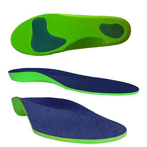 Columbia-Island Orthopädische Einlegesohle/Schuhsohlen/Schuheinlage Größe M 42-43 Sport-Einlegesohlen Einlagen - Fersen - Fußballen Unterstützung Arbeitsschuhe