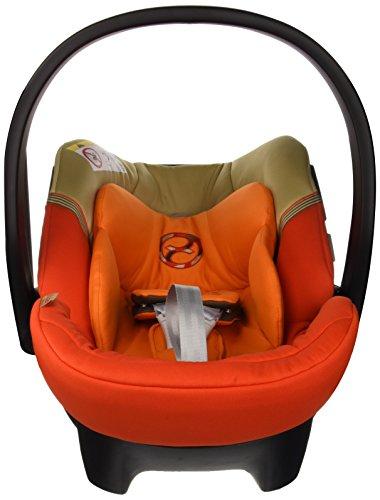 Cybex Aton 4 - Silla de coche, grupo 0+ (0-13 kg, desde nacimiento hasta 18 meses), color Autumn gold [colección 2015]