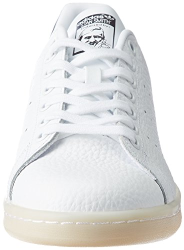 adidas Stan Smith, Sneakers Basses Homme Blanc (Ftwwht/ftwwht/utiblk)