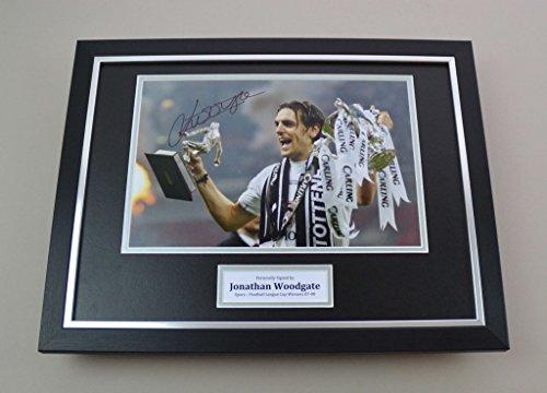 Up-North-Memorabilia-Jonathan-Woodgate-Signed-Photo-Framed-16×12-Tottenham-Hotspur-Autograph-Display