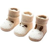 2019 Mode Baby Mädchen Jungen Unisex Winter Warme Socken Dot Kinder Nette Slip Schuhe Baumwolle Socken Kinder 3 Farben Socken & Strumpfhosen