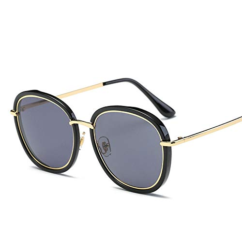FZBK UV-KleidungDer gleiche Absatz Sonnenbrille_2019 mit dem gleichen Absatz Sonnenbrille mit dem Trend der Version des neuen Netzwerks rot polarisierte lightBlack Kreis Gold gerahmte Quecksilber