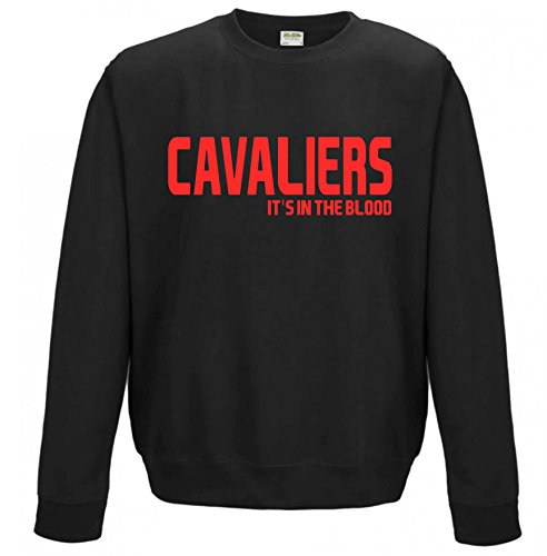 finest selection f181d b5e26 Cavaliers It's in the Blood Cleveland NBA Gift Sweatshirt ...