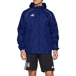Adidas Core18 RN Impermeable Deportivo Para Hombre Azul Oscuro/Blanco Talla XL