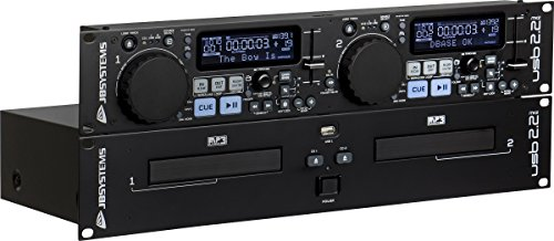 JB Systems USB 2.2 MK2  professioneller Doppel CD-Player