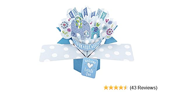 Happy 21st Birthday Pop-Up Gru/ßkarte Original Second Nature 3D Pop up Karten