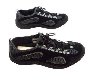 Hi-Tec - Scarpe da trekking da uomo, colore: nero/grigio, nero (Black), 45