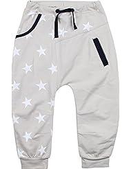 Zunstar Jack - Pantalones de náutica para niño, color arena, talla UK: Talla 122/128
