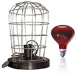 Bricolemar Estufa de Infrarrojos 250W + Lámpara Infrarroja (E27)
